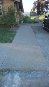 concrete side walk 2