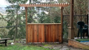 gate with arbor